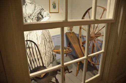 Display from Visitor's Center at Brunswick Town