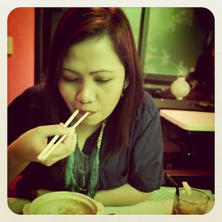 Masarap pala kumain ng chopsticks hihih