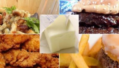 Tuky v potravinách: 7 jídel, které obsahují více tuku než půlka másla