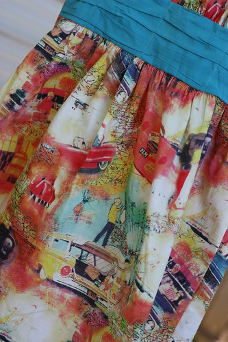 Love this fabric--from stash