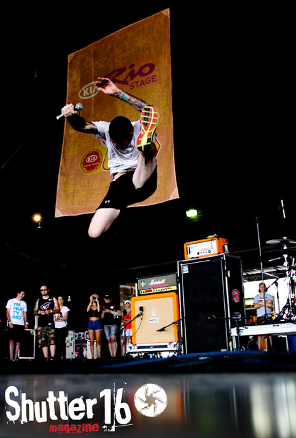 Senses Fail - Vans Warped Tour 2012- Charlotte