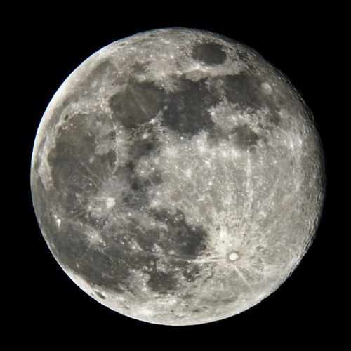 Full Moon with Skywatcher 200PDS 2 Aug 2012