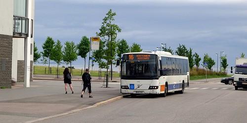 Bussi 16 Eiranrannassa