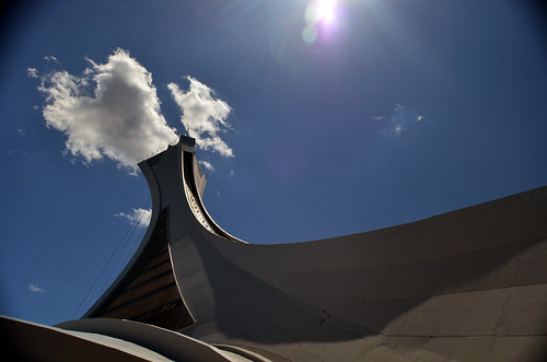 Montreal Tower, Montreal Olympic Stadium