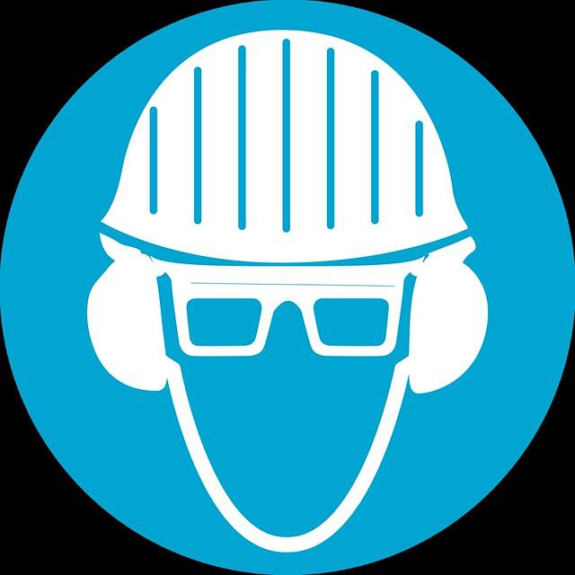 Uso obligatorio de cascos gafas y proteccion auditiva - Gafas de proteccion ...