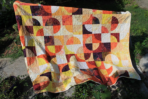 Sunset Forest Wedding Quilt
