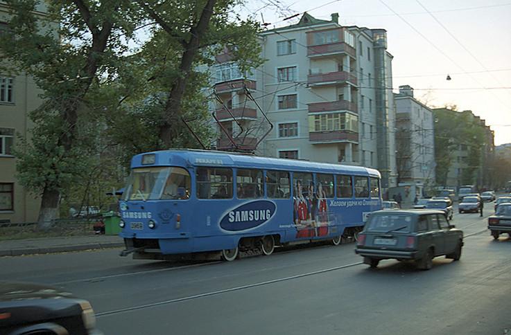 Трамвай 23 маршрута на