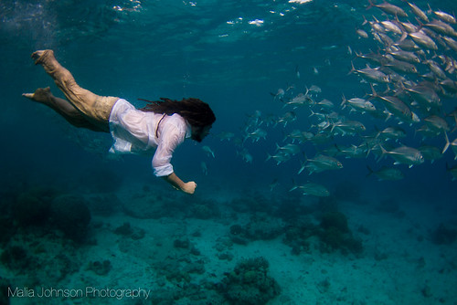Fully Clothed Underwater by cestrius
