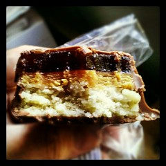 #peanutbutter jelly bar from Sweet Lydia's #yumo #sodelicious #food #candy