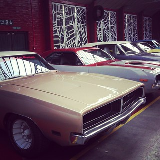 Muscle Cars at London Motor Museum