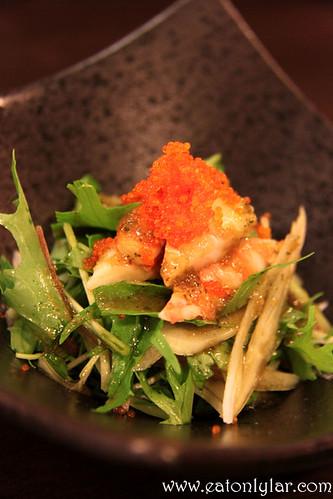 Mizuna Salad, Kushiyaki Kuni