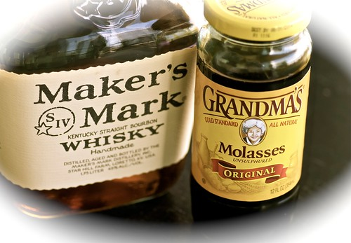 Maker's Mark Whisky and Grandma's Molasses