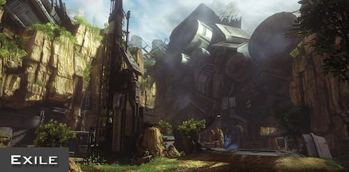 Halo 4 Exile Map Strategy Guide