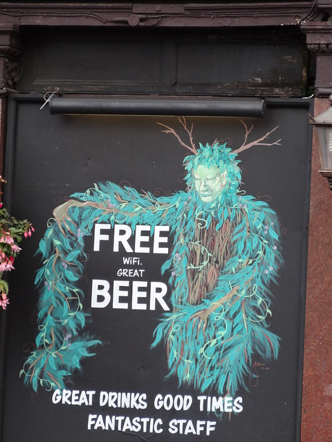 Sneaky Green Man Pub Deal