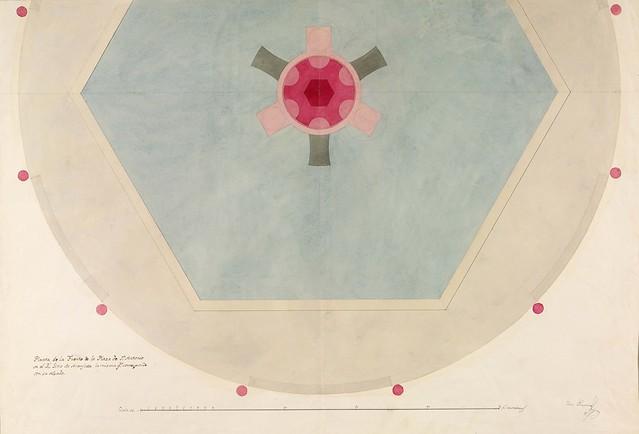 Planta de la Fuente de Venus (Isidro Velázquez) (Iberia)