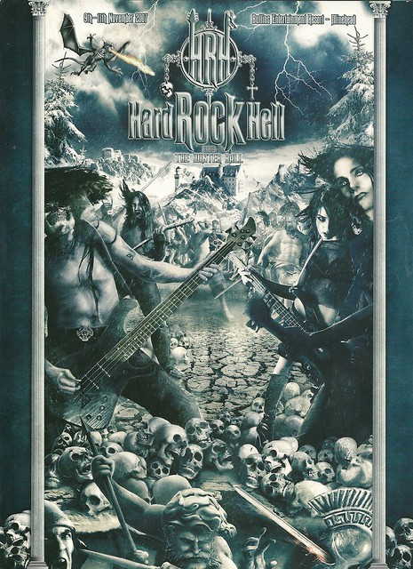 11/09 - 11/07 Hard Rock Hell Winter Ball @ Butlins Entertainment Resort, Minehead, Somerset, England (1/2)