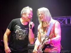 Deep Purple @ Rockhal, Ian Gillian & Steve Morse