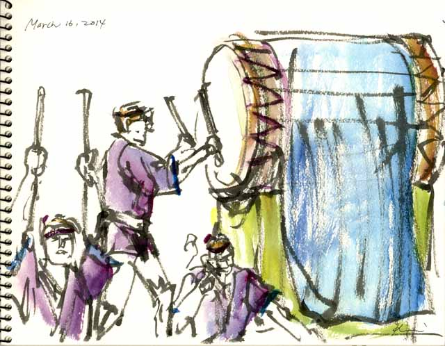 Japanese drum-2