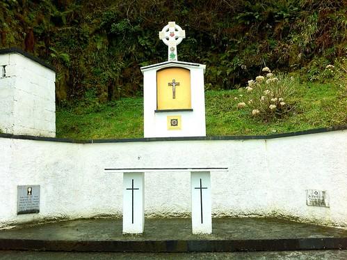 ireland monument worship cross religion jesus altar crucifix priest catholicism ashford limerick holymass massrock uploaded:by=flickrmobile flickriosapp:filter=nofilter ilobsterit