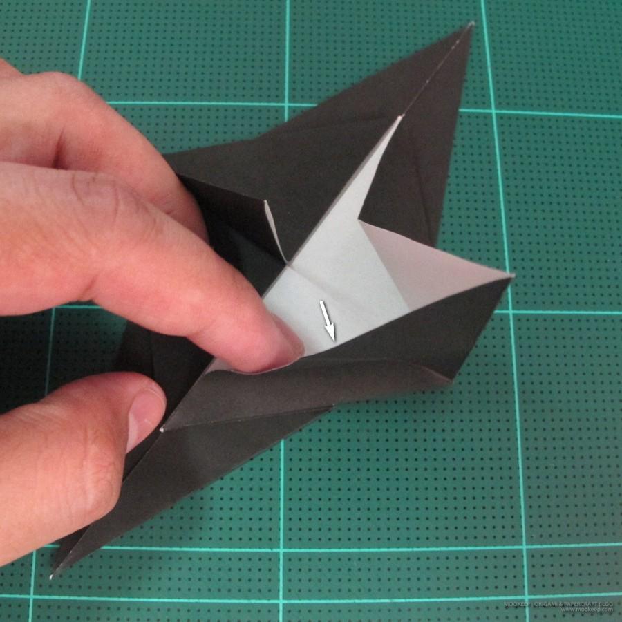 วิธีการพับกระดาษเป็นรูปจิงโจ้ (Origami Kangaroo) 003