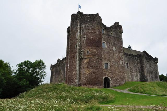 Lord's Tower, Doune castle (XIVe), Stirling council area, Ecosse, Grande-Bretagne, Royaume-Uni.