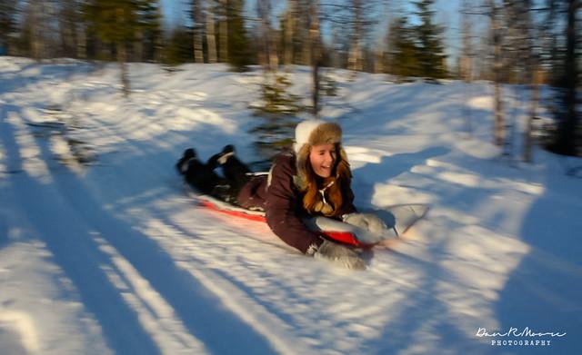 An Arctic Adventure in Swedish Lapland - Sledding in Swedish Lapland
