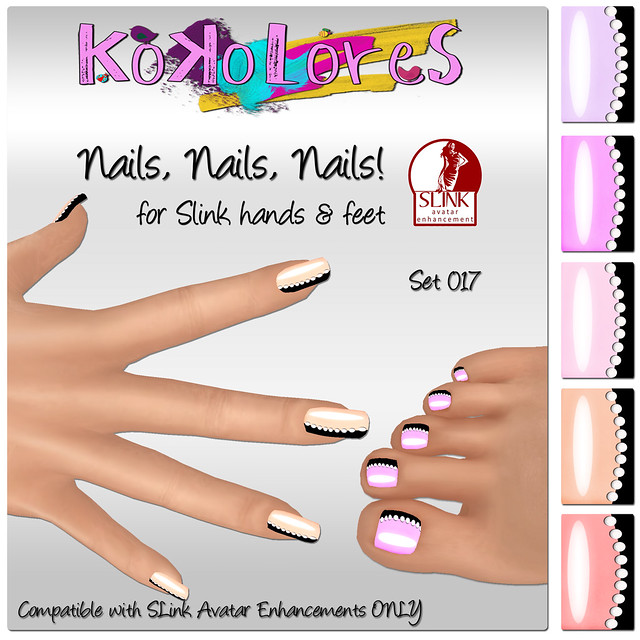 [KoKoLoReS]Nails, Nails, Nails! Set 017