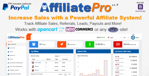 Affiliate Pro v1.7.1 – Affiliate Management System