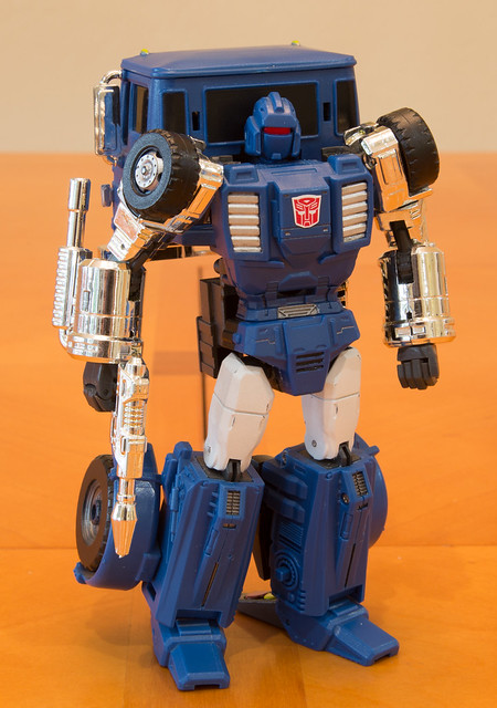 Masterpiece Pipes (Stax) - Robot mode