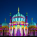Dr Blighty projection on the Brighton Royal Pavilion by lomokev