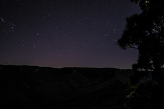 Night sky from Mt Solitary