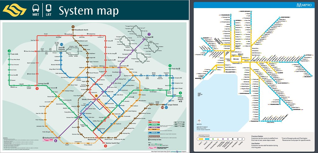 Things I Learnt About The Singapore Mrt And A Comparison With