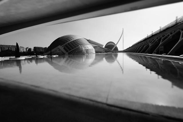 Valencia, Cité des Arts et des Sciences