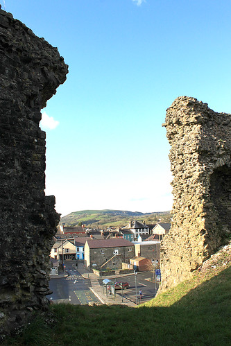 from castle view walls llandovery
