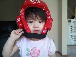 shrimpie w/TKD helmet