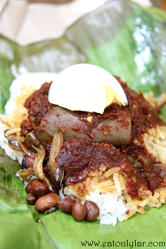 Nasi Lemak with Sambal Sotong, Bakery Joy