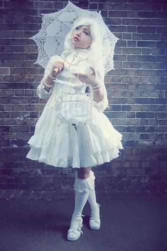 [フリー画像素材] 人物, 女性 - アジア, ロリータ・ファッション ID:201204021400