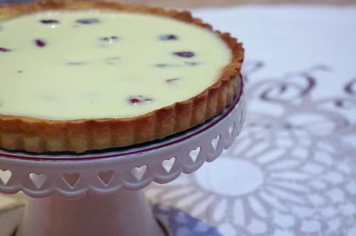 Crostata al cioccolato bianco e cranberrys #2
