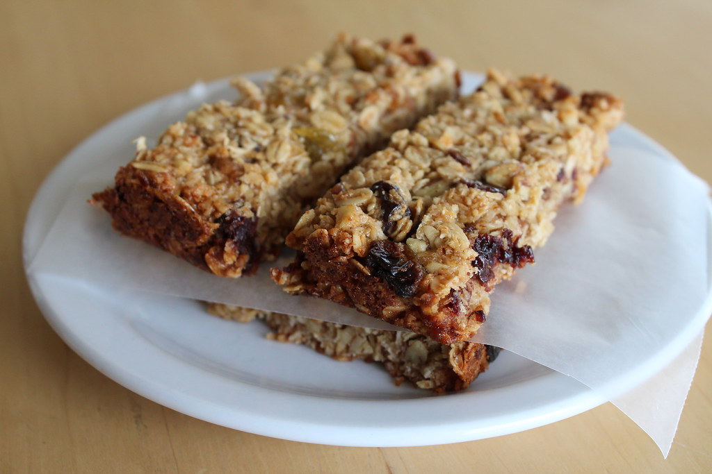 Soft, Thick & Chewy Granola Bars | the moveable feasts