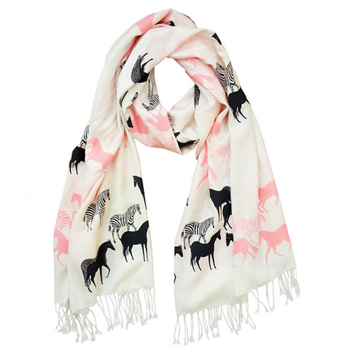 Equus Scarf - Cream