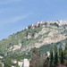 Small photo of View of Castelmola from Taormina
