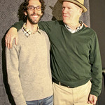 Engineer Jeremy Rainer with Loudon Wainwright III