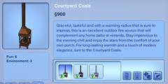 Courtyard Coals