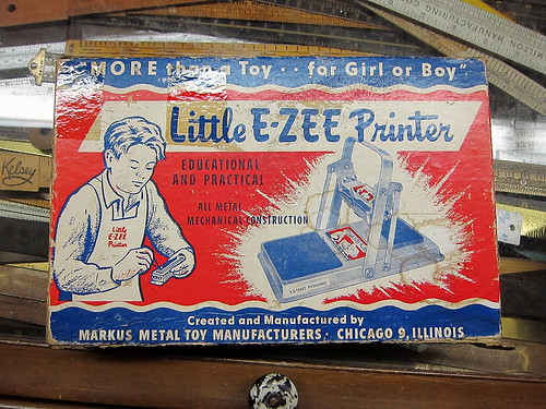 Little E-ZEE Printer by Depression Press