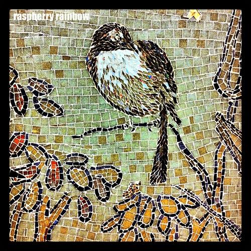 Tiled birdie num num.