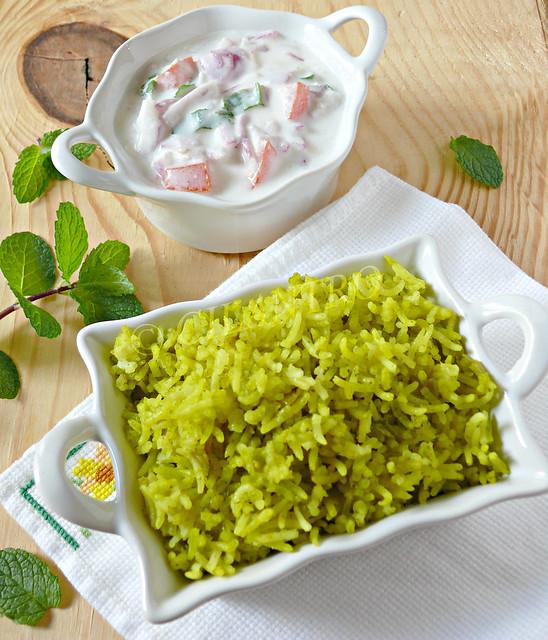 Mint Rice (1)