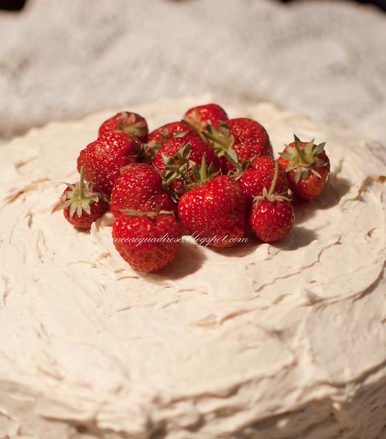 torta alla fragola