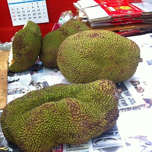 ジャックフルーツ!でかい!#Thailand
