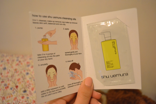 daisybutter - UK Fashion Blog: glossybox march 2012, shu uemura classic cleansing oil review