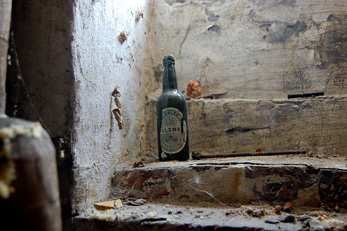 Old beer bottle by Runemester